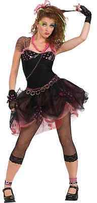 80s Diva Rock Pop Star Madonna Cyndi Lauper Fancy Dress Halloween Teen Costume