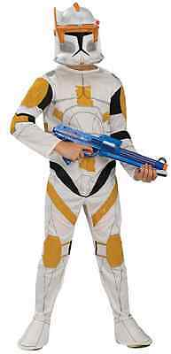 Commander Cody Star Wars Clone Trooper Fancy Dress Up Halloween Child (Commander Cody Halloween Kostüm)