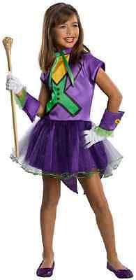 Joker Tutu DC Comics Batman Villain Clown Fancy Dress Up Halloween Child - Clown Tutu Dress
