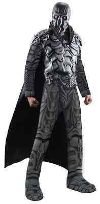 Man Of Steel Zod Kostüme (General Zod Man of Steel Superman Villain Fancy Dress Up Halloween Adult Costume)