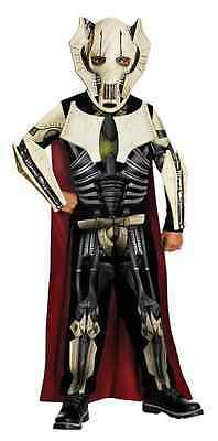 General Grievous Star Wars Clone Commander Fancy Dress Halloween Child Costume - Star Wars General Grievous Halloween Costume