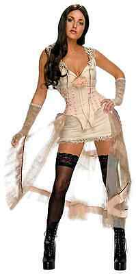 Lilah Jonah Hex Victorian Steampunk Megan Fox Dress Halloween Sexy Adult Costume](Adult Fox Halloween Costume)