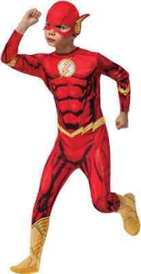 The Flash DC Comics CW TV Series Superhero Fancy Dress Halloween Child Costume