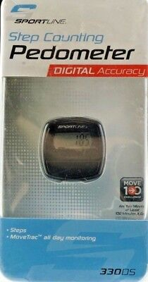 Sportline Step Counting Pedometer Digital Accuracy
