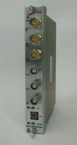 ROSS VIDEO DAC-9213-PVM COMPONENT TO ANALOG CARD