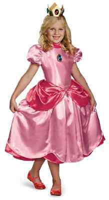 Baby Princess Peach Halloween Costume (Princess Peach Deluxe Super Mario Brothers Nintendo Halloween Child)
