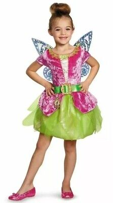 Fairy Pirate Tinkerbell Classic Girls Costume, Large L 10-12 (Tinkerbell Classic)