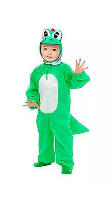 Super Mario Baby Costume (Kids Super Mario Yoshi Fancy Dress Costume Child Yoshi Costume Dinosaur)