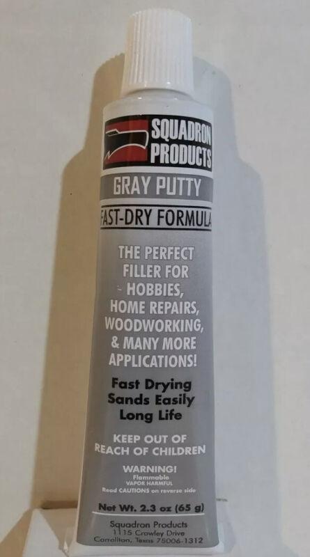 Squadron Tools 20202, Gray Grey Putty Fast Dry Formula
