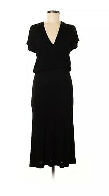 MAISON MARTIN MARGIELA Vintage Archive 90s Black Dress RARE Collector's 44 L 8