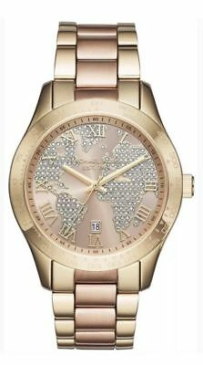 Michael Kors Women's Layton Rose Gold & Gold-Tone Watch MK6476