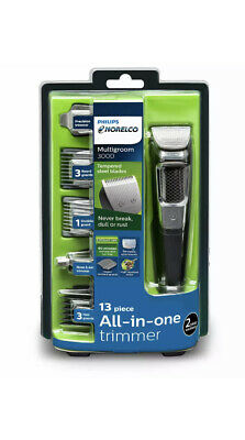 Philips Norelco Multigroom Series 3000 - MG3750/60 - haircut clipper kit beard