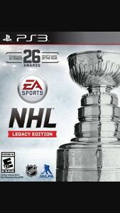 NHL legacy edition ps3