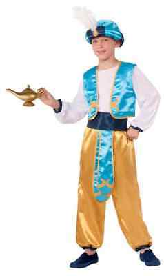 Arabian Prince Aladdin Arab Royalty Fancy Dress Up Halloween Child Costume - Boys Aladdin Costume