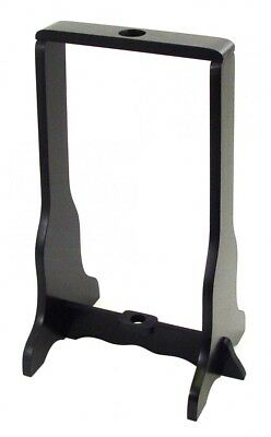 Single Sword Stand - Universal Katana Stand | Black Wood Single Sword Upright Display