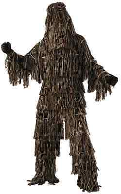 Ghillie Suit Yowie Camo Military Sniper Hunter Fancy Dress Up Halloween Costume - Ghillie Suit Halloween Costume