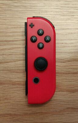 Super Mario Odyssey Nintendo Switch Red Joy-Con Controller (RIGHT) + Strap