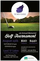 Wolf classic Lando Lakes Golf Tournament