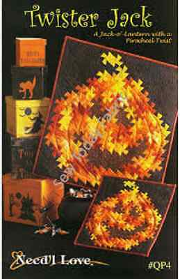 TWISTER JACK by Need'l Love Twister Quilting Sewing Halloween Pattern