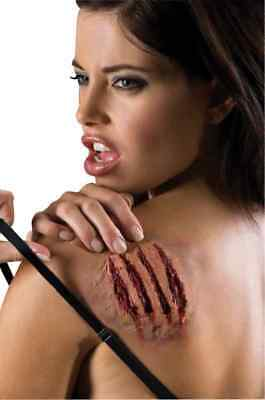 Love Scratch Wolf Claws Wound Dress Up Halloween Costume Makeup Latex Prosthetic
