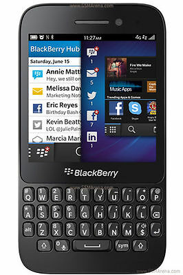 Brand New BlackBerry Q5 Black 8GB Unlocked 4G LTE 5MP Camera WiFi GPS GSM Qwerty