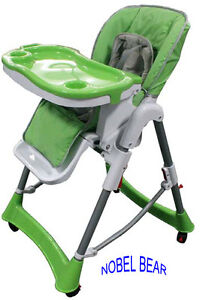 Deluxe Portable Comfortable Baby High Chair New model