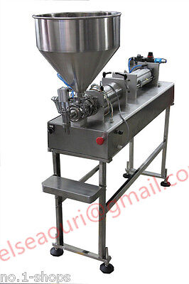 Semi-auto Stand Type Bottle Fillerpneumatic Paste Filling Machine 100-1200ml