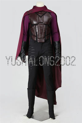 X-Men Day of Future Past Magneto Cosplay Kostüm Halloween Costume Erik Lehnsherr