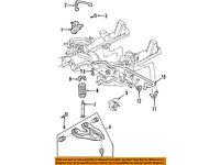 FORD OEM 09-15 F-150 Stabilizer Sway Bar-Front-Link 9L3Z5K483D