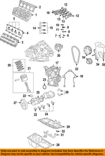 Details about CHRYSLER OEM-Camshaft 5038419AB on