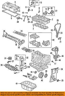 Honda Oem 10 11 Civic Engine Oil Pump 15100Rbc016