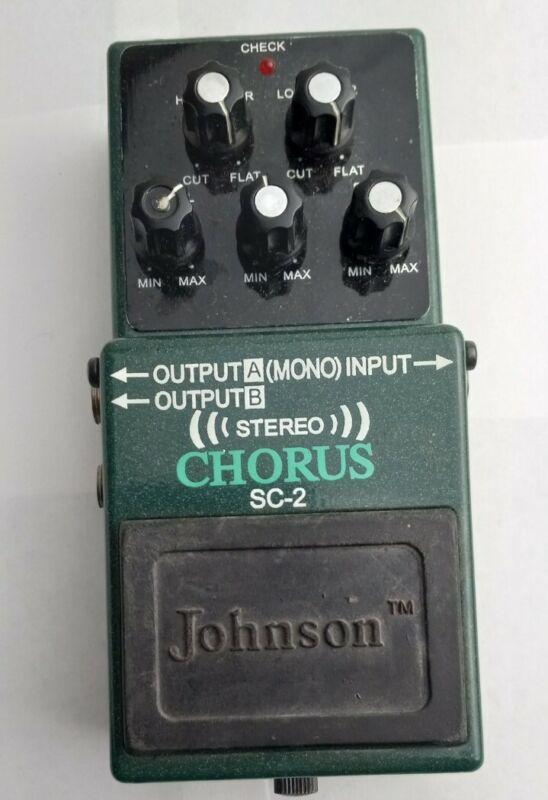 Johnson Stereo Chorus SC2 Guitar Pedal
