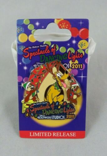 Disney Pin Osborne Family Spectacle of Dancing Lights 2011 Pluto and Chip Dale
