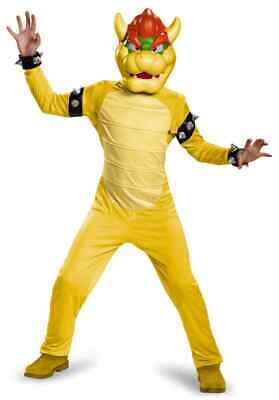 Bowser Deluxe Nintendo Super Mario Brothers Fancy Dress Halloween Child Costume