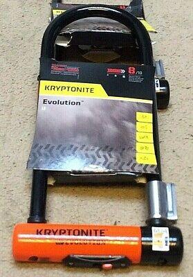 "4/"" x 11.5/"" grade 8 Kryptonite Evolution  LS U-Lock"