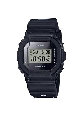 Casio G-Shock x PIGALLE DW5600PGB-1 Collaboration Black Limited Edition 2017 New