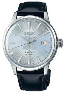 Seiko SRPB43 Presage Automatic Men's Watch 23 Jewel Exhibition Back USA Seller