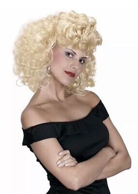 Officially Licensed Grease Bad Girl Sandy Sandra Dee Halloween Wig Adult - Grease Sandy Wig
