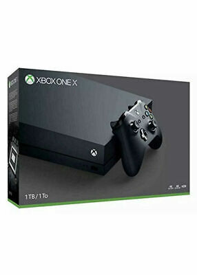 Microsoft Xbox One X 1Tb Console With Wireless Controller: Xbox One X Enhanced,