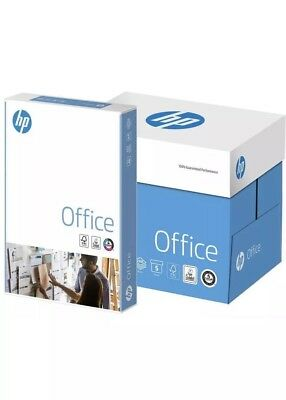 HP A4 80 gsm White Copy Office Printer Copier Paper 2500 sheets 5 ream Box