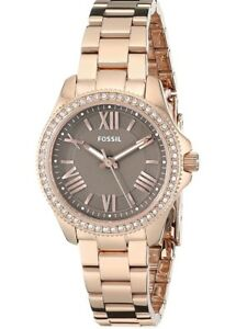 Gorgeous FOSSIL Women's Rose Gold Watch with box