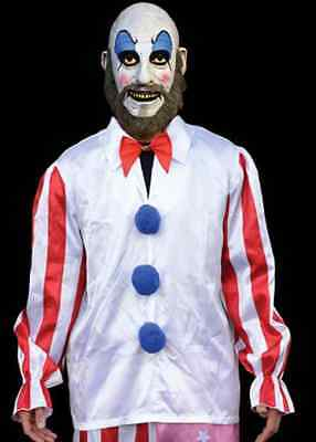 Captain Spaulding House 1000 Corpses Clown Fancy Dress Halloween Adult Costume