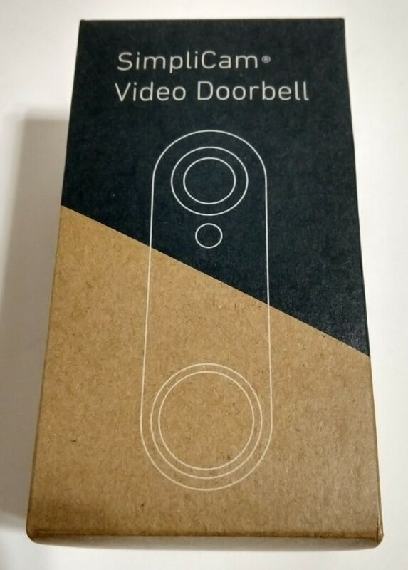 SimpliSafe SimpliCam VIDEO DOORBELL SSDB3 White New