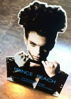 Prince - Peach .  Cardboard stand up promotional cut out   -
