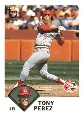 2003 Topps Retired Signature Baseball Card Pick