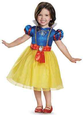 Snow White Toddler Classic Disney Princess Fancy Dress Halloween Child Costume