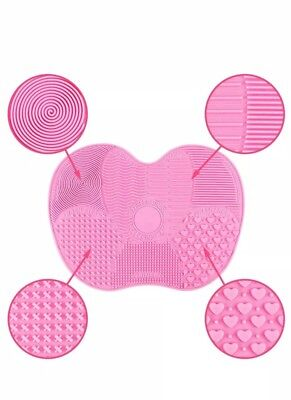 ⭐SALE ⭐Silicone Make up Brush Cleaner Cleaning Cosmetic Scrubber Board Mat Pad