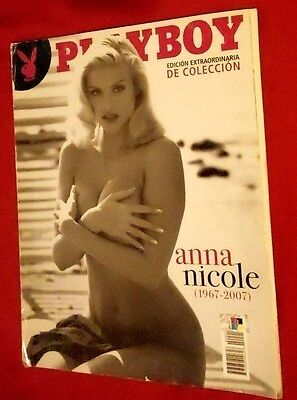 Playboy Mexico Special Edition A Tribute To Anna Nicole Smith  1967 2007