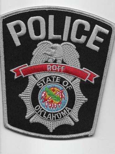 Rare Roft Police State Oklahoma OK NEW