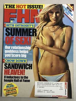 FHM Magazine June 2005 Beth Ostrosky Tava Smiley Free Shipping